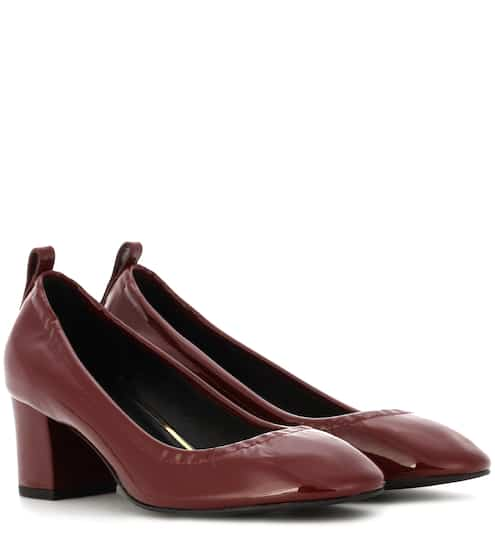 Lanvin Pumps aus Lackleder