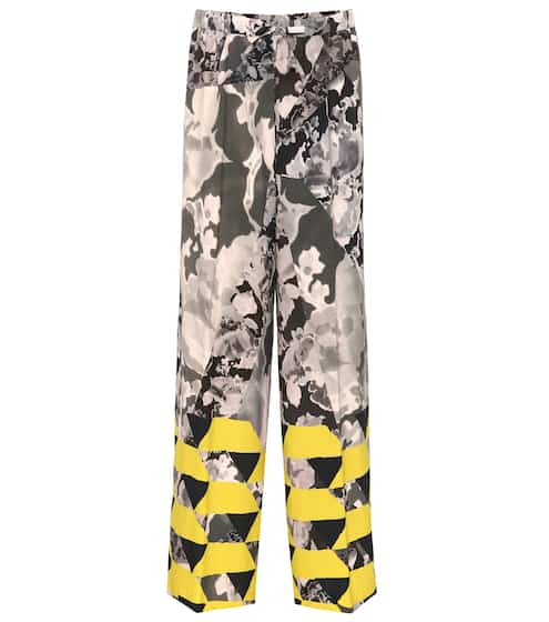 Dries Van Noten Bedruckte Hose