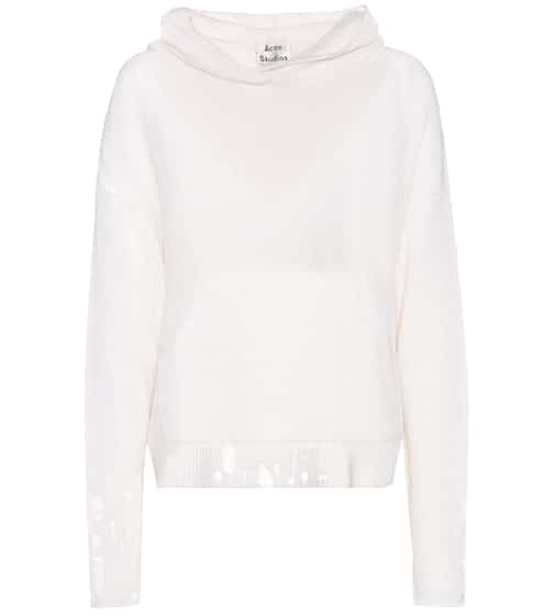 Acne Studios Amelie cotton and alpaca wool sweater