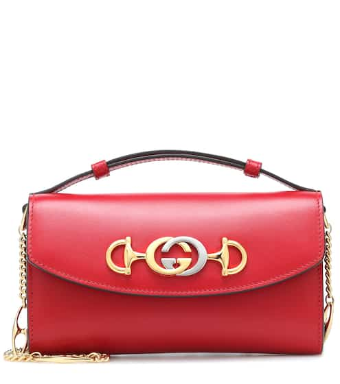 371b485d183861 Gucci Zumi Small leather shoulder bag | Gucci