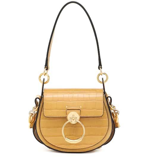 끌로에 Chloe Tess Small leather shoulder bag