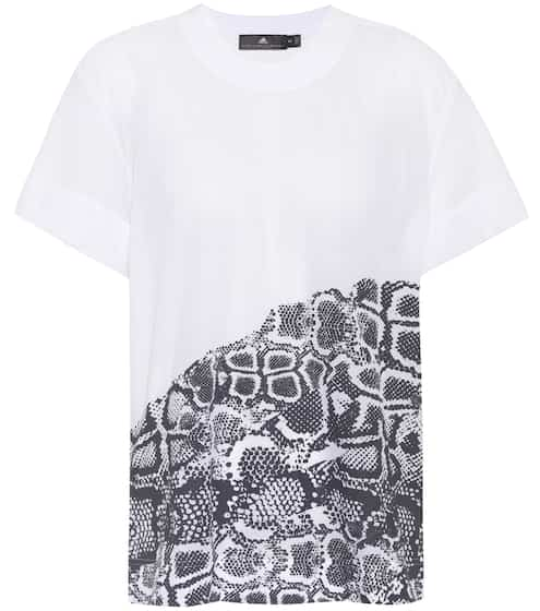 Adidas by Stella McCartney Bedrucktes T-Shirt Run