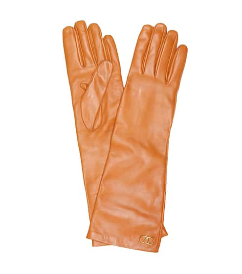 발렌티노 장갑 Valentino Garavani leather gloves