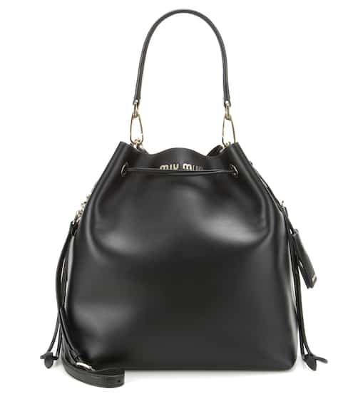 Miu Miu Black Bucket Bag