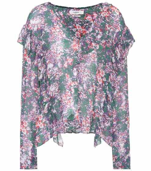 이자벨 마랑 에뚜왈 Jelby 플로랄 블라우스 (서민정 착용) Isabel Marant, Étoile Jelby printed blouse