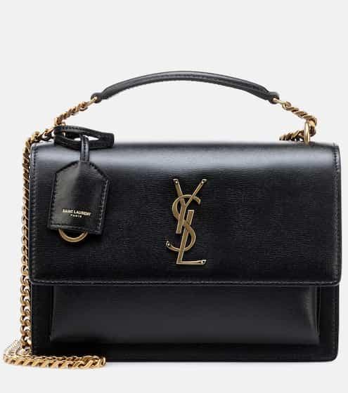 0417e6ee2f5 Medium Sunset Monogram leather shoulder bag | Saint Laurent