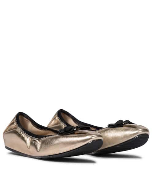 페라가모 플랫 슈즈 Salvatore Ferragamo My Joy leather ballet flats