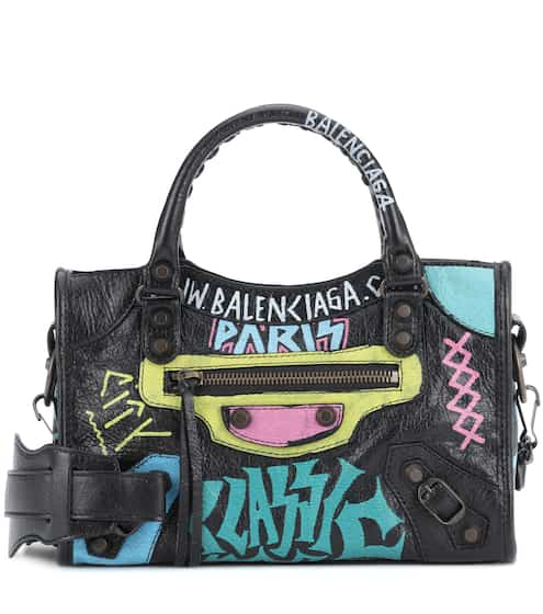 Classic City Graffiti Small leather tote  e2c5a91a459a4