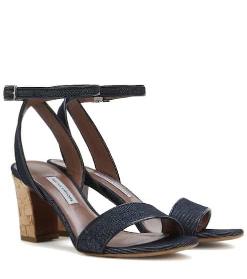 Tabitha Simmons Leticia denim sandals