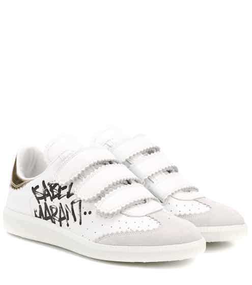 Isabel Marant Sneakers Beth Street Tag aus Leder