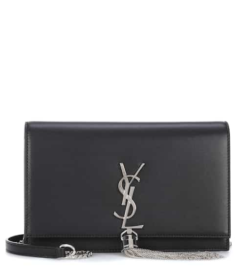 Saint Laurent Clutch Kate Monogram aus Leder
