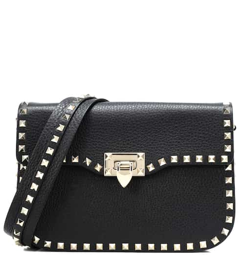 fca470ffde Valentino Garavani Rockstud leather shoulder bag