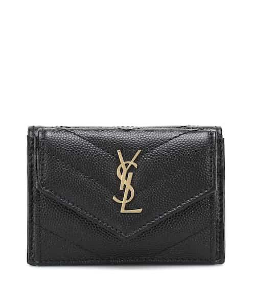 21FW 생 로랑 모노그램 반지갑 Saint Laurent Monogram leather wallet