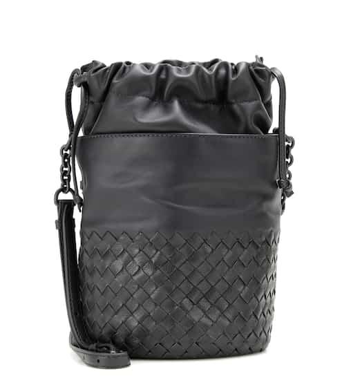 4710133212f7 Bottega Veneta Small Bucket Leather Shoulder Bag
