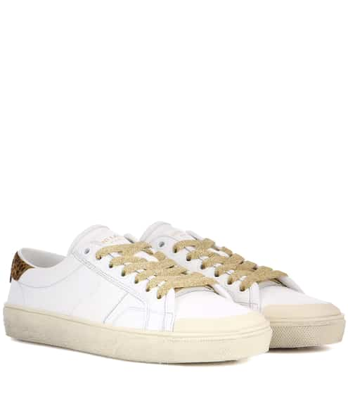 Saint Laurent Sneakers Court Classic SL/37 aus Leder