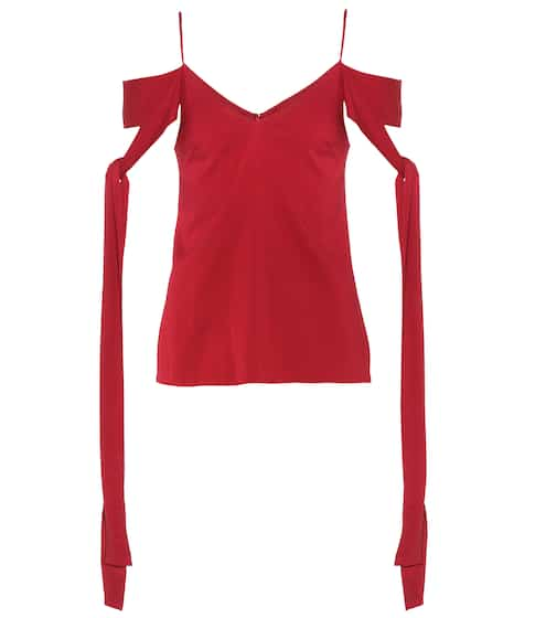 Ellery Top aus Stretch-Seide