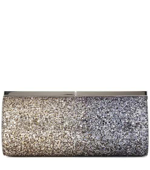 Metallic Celeste glitter clutch - Multicolour Jimmy Choo London NJm46IsYcW