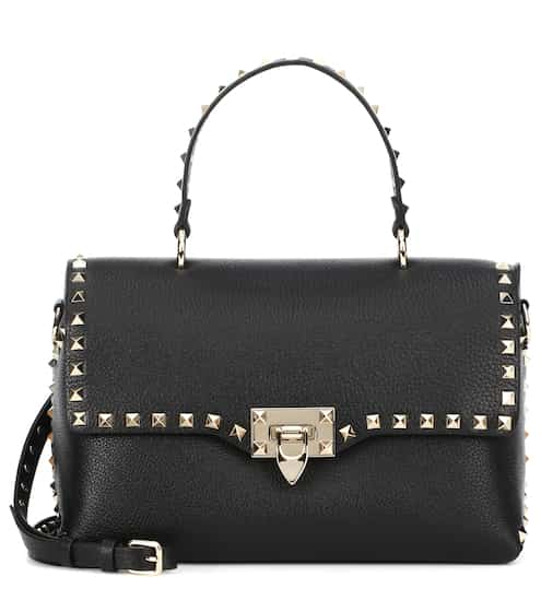21b142563ee Valentino Garavani Rockstud leather shoulder bag | Valentino