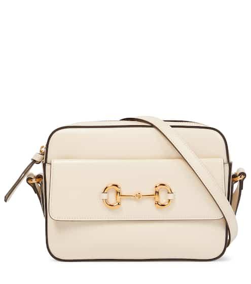 구찌 Gucci 1955 Horsebit Small leather camera bag