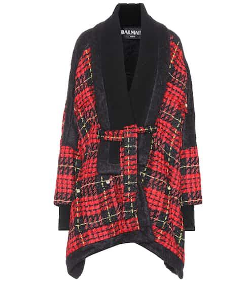Balmain Mantel aus Tweed