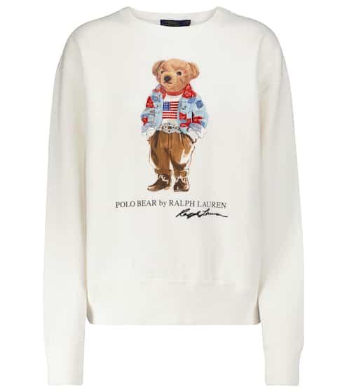 폴로 랄프로렌 폴로 베어 맨투맨 Polo Ralph Lauren Printed cotton-blend sweatshirt