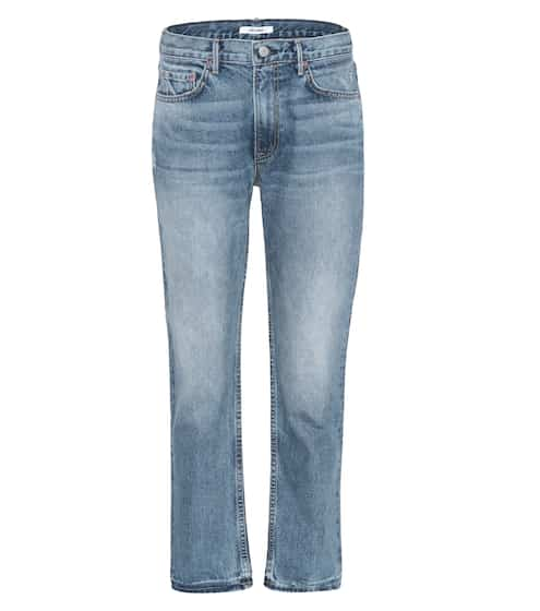 Grlfrnd High-Rise Jeans Jane aus Baumwoll-Denim