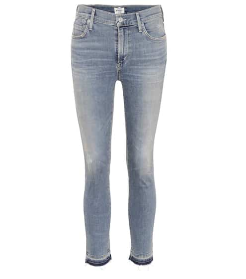 Citizens of Humanity High-Rise Skinny Jeans Rocket Crop