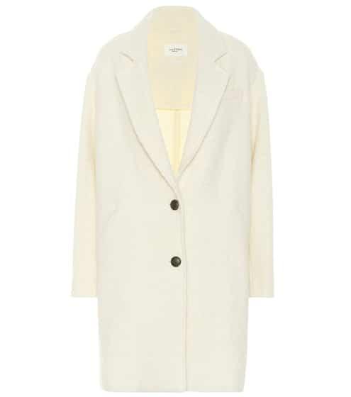 이자벨 마랑 에뚜왈 단테 코트 - 크림 (김나영 착용) Isabel Marant Etoile Dante boucle coat