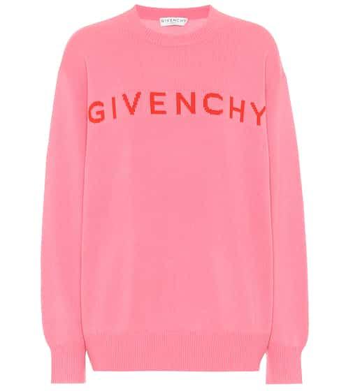 지방시 Givenchy Logo cashmere sweater