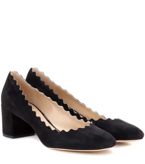 끌로에 Chloe Lauren suede pumps