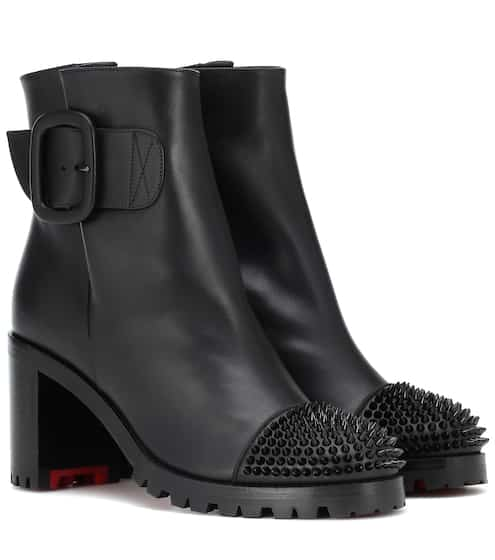 d4887a7ad5bd Olivia Snow 70 leather ankle boots