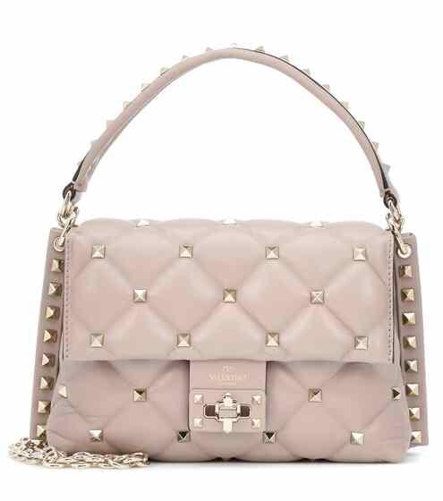 4ed1f5b42db Valentino Garavani Candystud Medium leather shoulder bag   Valentino