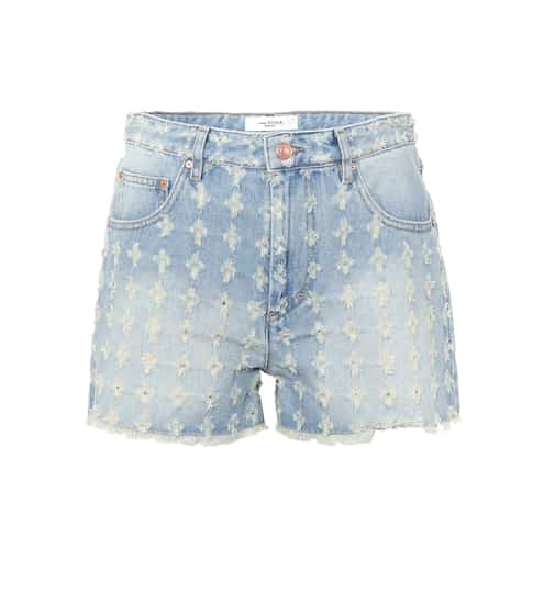 이자벨 마랑 Isabel Marant, Étoile Celsa denim shorts