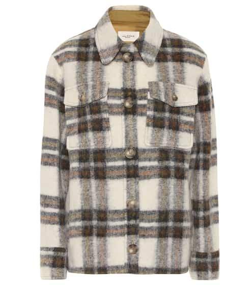 ea5436a7 Gaston checked wool-blend jacket | Isabel Marant, Étoile