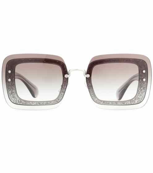 Miu Miu Verzierte Sonnenbrille