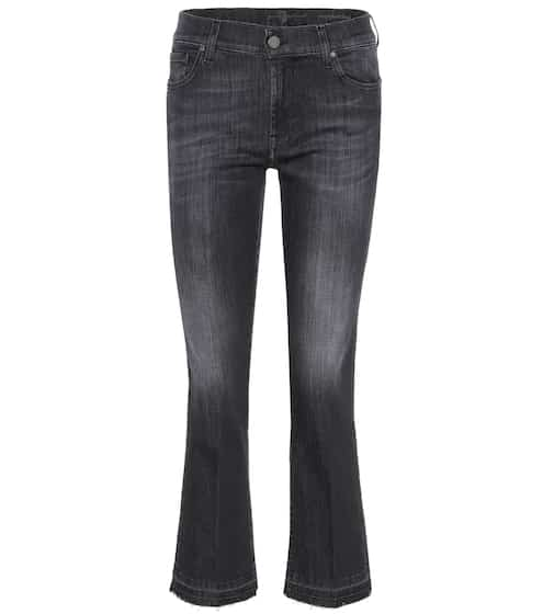 7 For All Mankind Cropped Jeans The Ankle Flare