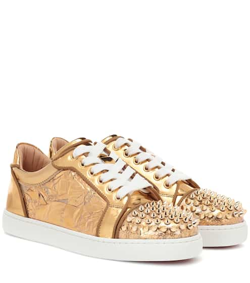 09a11c89e4c6 Vieira Spikes embellished leather sneakers