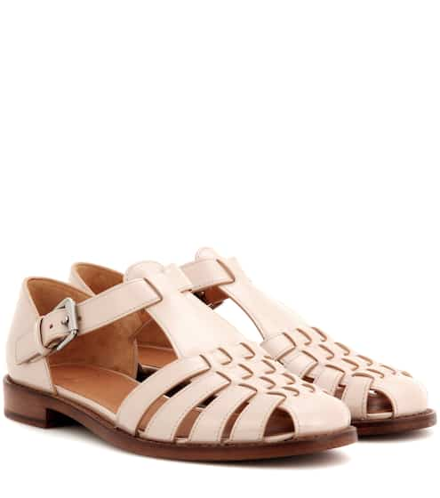 Church's Sandalen aus Leder