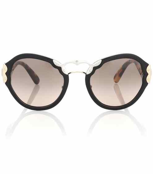 Prada Cat-Eye-Sonnenbrille Wanderer