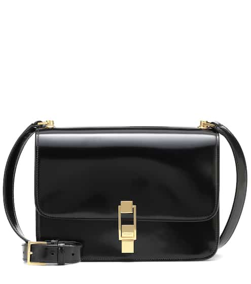 Carré patent leather shoulder bag by Saint Laurent, available on mytheresa.com for EUR1890 Kendall Jenner Bags SIMILAR PRODUCT