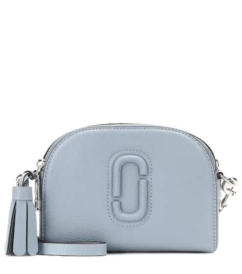 bf6a36c3f257 Marc Jacobs Shutter Small Leather Crossbody Bag from mytheresa - Styhunt