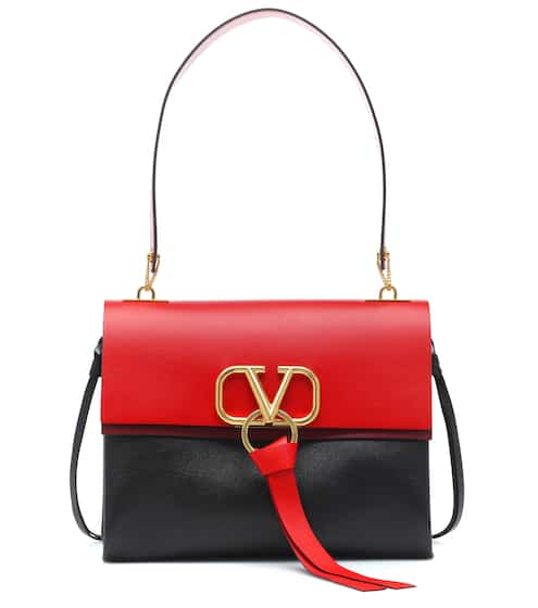 ac4d919afbf08 Valentino Garavani VRING Medium leather shoulder bag