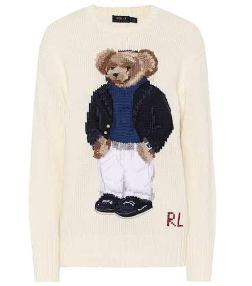 폴로 랄프로렌 Polo Ralph Lauren Polo Bear cotton sweater