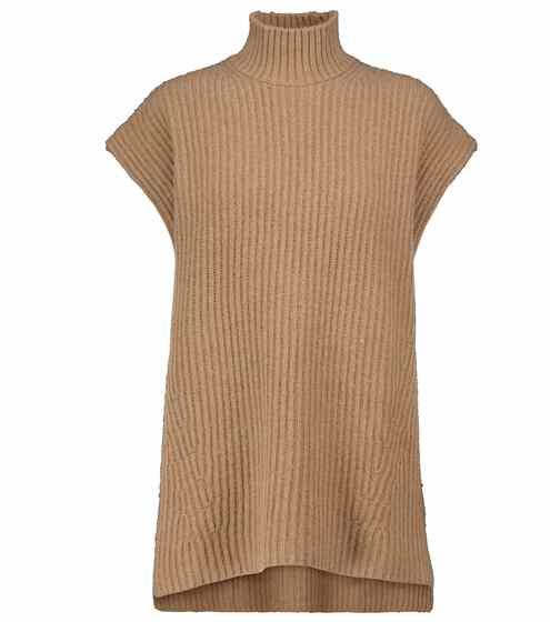 가니 조끼 Ganni Ribbed-knit vest