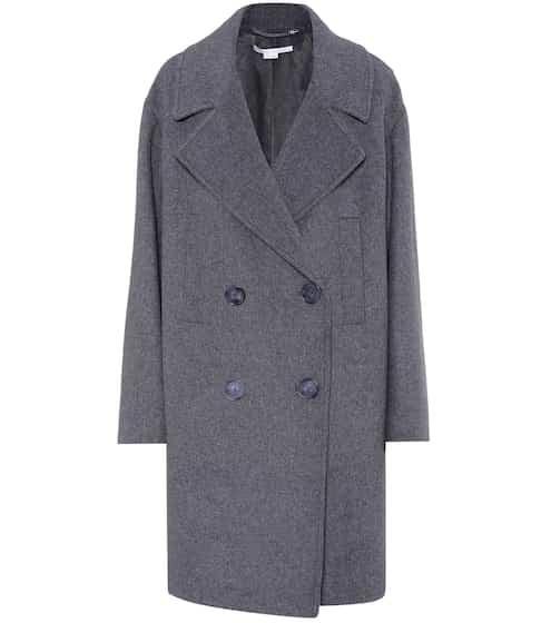 Stella McCartney Mantel mit Wolle