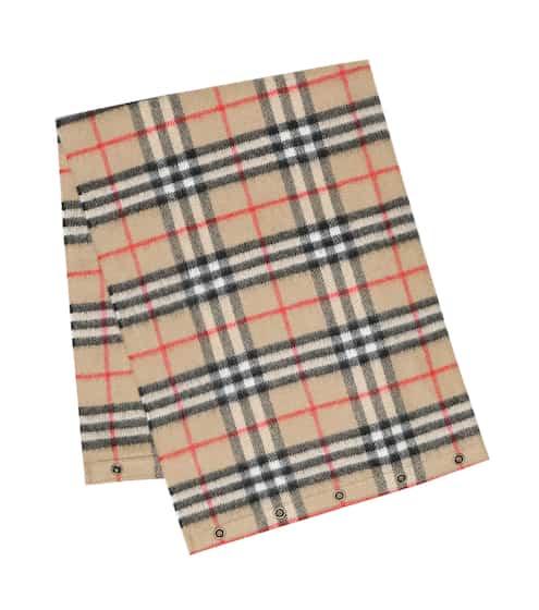 버버리 키즈 체크 캐시미어 머플러 Burberry Vintage Check cashmere scarf