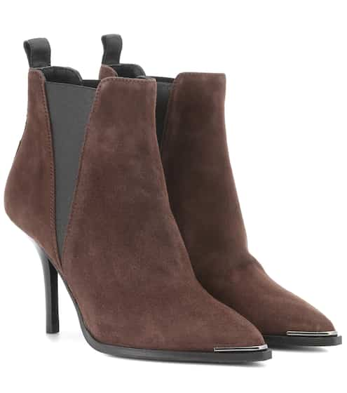 db2cee97810 Acne Studios Jemma Suede Ankle Boots from mytheresa - Styhunt