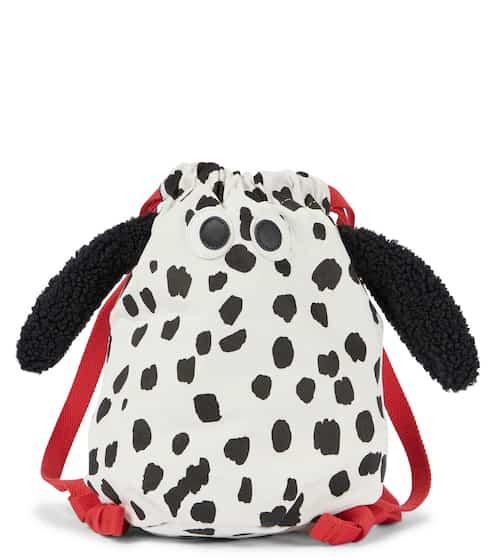 스텔라 맥카트니 키즈 백팩 STELLA McCARTNEY Kids Dalmatian print backpack