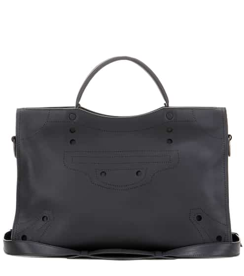 Balenciaga Ledertasche Blackout City
