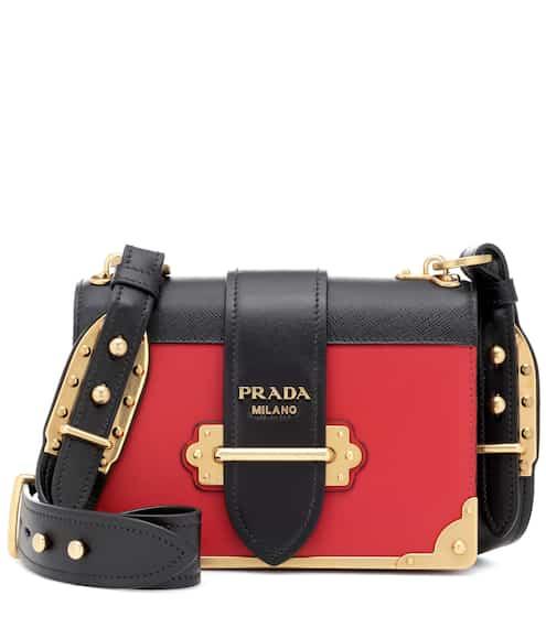 9f7da7666ee5 ... coupon cahier leather shoulder bag prada 331b7 e65d3 ...